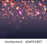 abstract colorful blurred... | Shutterstock .eps vector #606941807