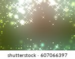 beautiful colorful abstract... | Shutterstock . vector #607066397