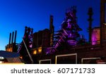 Bethlehem Steel Stacks At Nigh...