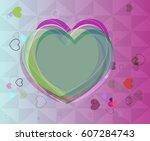 valentine texture design   Shutterstock .eps vector #607284743