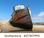 Small photo of abandoned ship