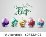 Ornamental easter eggs collection