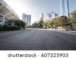 road in the city | Shutterstock . vector #607325903