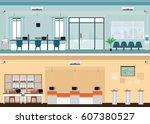 public access to financial... | Shutterstock .eps vector #607380527