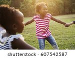 happiness group of cute and... | Shutterstock . vector #607542587