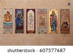 nazareth  israel   august 30 ... | Shutterstock . vector #607577687