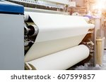 Weaving Machine Produce White...