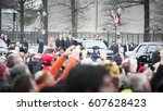 45th presidential inauguration  ... | Shutterstock . vector #607628423