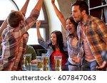 sport  people  leisure ... | Shutterstock . vector #607847063