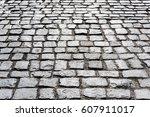 paving stone background | Shutterstock . vector #607911017