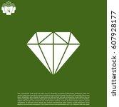 diamond icon vector.