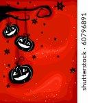 halloween themed design... | Shutterstock .eps vector #60796891
