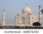 taj mahal  india | Shutterstock . vector #608076353