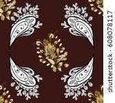 vector traditional orient... | Shutterstock .eps vector #608078117