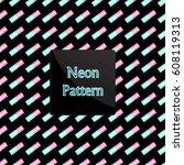 pattern rectangle | Shutterstock .eps vector #608119313