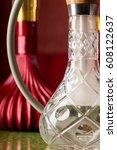exotic turkish hookah | Shutterstock . vector #608122637