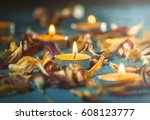 Yellow Candles And Plamennoi...
