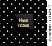 pattern square | Shutterstock .eps vector #608124647