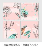 hand drawn vector abstract save ...   Shutterstock .eps vector #608177897