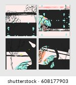 hand drawn vector abstract save ...   Shutterstock .eps vector #608177903