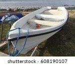 boat | Shutterstock . vector #608190107