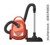 red vacuum cleaner icon....