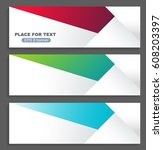 business brochure flyer design... | Shutterstock .eps vector #608203397