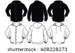 jacket | Shutterstock .eps vector #608228273