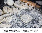 baking cakes | Shutterstock . vector #608279387
