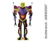 robot | Shutterstock .eps vector #608302007