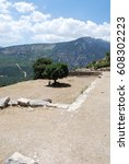 Small photo of Ruins of the ancient Lycian city Arycanda in Finike, Turkey