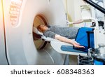 medical equipment. doctor and... | Shutterstock . vector #608348363