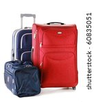 luggage consisting of two large ... | Shutterstock . vector #60835051