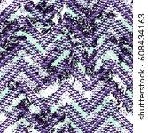 grunge chevron vector pattern...   Shutterstock .eps vector #608434163