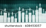business software and... | Shutterstock . vector #608453057