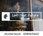passion motivation attitude... | Shutterstock . vector #608465663