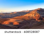 golden gate highlands national... | Shutterstock . vector #608528087