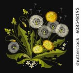 Dandelions Embroidery....