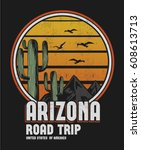 Arizona Print Design For T...