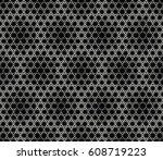 sacred geometry triangle... | Shutterstock .eps vector #608719223
