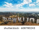 los angeles  ca  usa   october... | Shutterstock . vector #608780243
