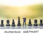 business decision making...   Shutterstock . vector #608794397