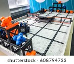 robotics competition. different ... | Shutterstock . vector #608794733