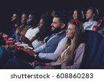 company of international people ... | Shutterstock . vector #608860283