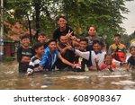 jakarta  indonesia   january 29 ...   Shutterstock . vector #608908367