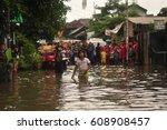 jakarta  indonesia   january 29 ... | Shutterstock . vector #608908457
