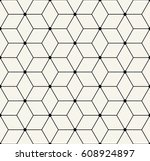 sacred geometry grid graphic... | Shutterstock .eps vector #608924897