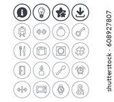 information  light bulb and...   Shutterstock .eps vector #608927807