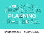 creative infographic banner... | Shutterstock .eps vector #608930333
