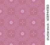 gorgeous floral background.... | Shutterstock .eps vector #608944583